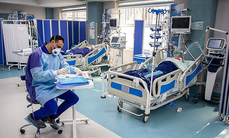 Afbeelding van Gesprekshulp 'Behandelgrenzen' bij besmetting Covid-19
