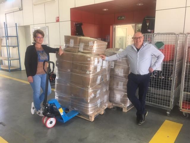 Afbeelding van Ervaringen van Mariëlle Jansen en Maurice Peters bij het Regionaal Distributiecentrum PBM